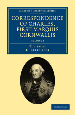 Picture of Correspondence of Charles, First Marquis Cornwallis