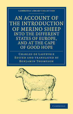 Picture of An Account of the Introduction of Merino Sheep into the Different States of Europe, and at the Cape of Good Hope