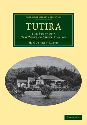 Picture of Tutira: The Story of a New Zealand Sheep Station