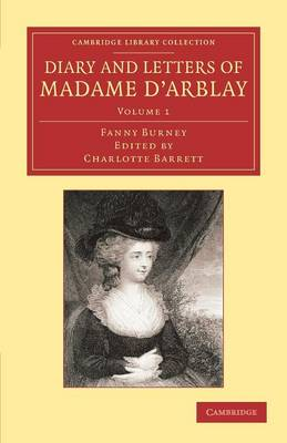 Picture of Diary and Letters of Madame d'Arblay: Edited by Her Niece: v. 1