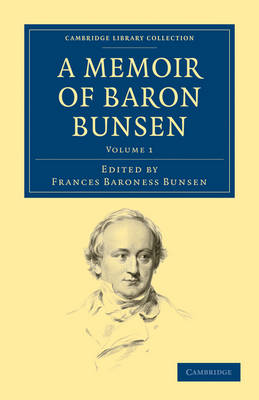 Picture of A Memoir of Baron Bunsen