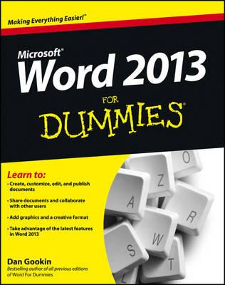 Picture of Word 2013 For Dummies
