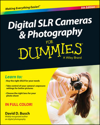 Picture of Digital SLR Cameras and Photography For Dummies