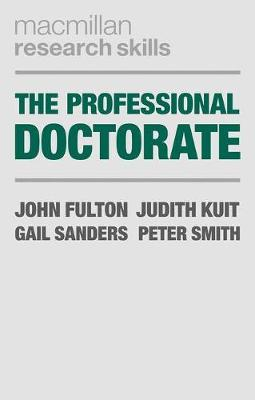 Picture of The Professional Doctorate: A Practical Guide