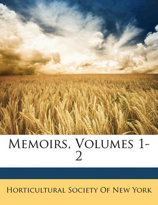 Picture of Memoirs, Volumes 1-2