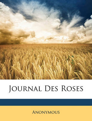 Picture of Journal Des Roses