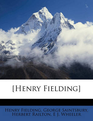 Picture of [Henry Fielding] Volume 2