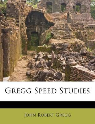 Picture of Gregg Speed Studies