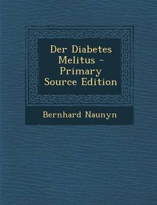 Picture of Der Diabetes Melitus