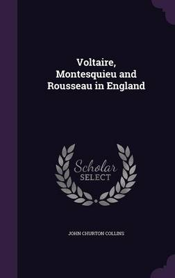 Picture of Voltaire, Montesquieu and Rousseau in England