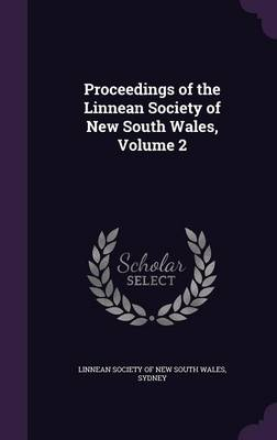 Picture of Proceedings of the Linnean Society of New South Wales, Volume 2