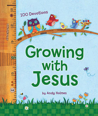 Picture of Growing with Jesus: 100 Daily Devotions