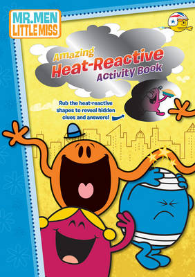Picture of The Mr. Men Show Amazing Heat-reactive Activity Book