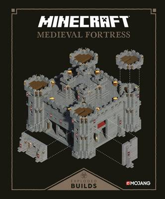 Picture of Minecraft: Exploded Builds: Medieval Fortress: An Official Minecraft Book from Mojang
