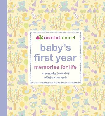 Picture of Baby's First Year - Memories for   Life: A Keepsake Journal of Milestone Moments