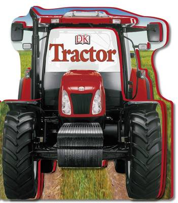 Picture of Tractor Shaped Board Book