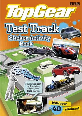 Picture of Test Track Sticker Activity Book