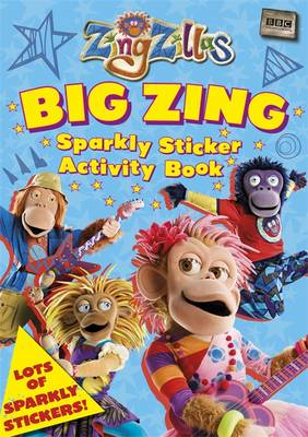 Picture of ZingZillas: Big Zing Sparkly Sticker Activity Book