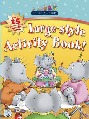 Picture of Large Style Activity Book