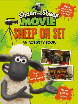 Picture of Shaun the Sheep Movie - Sheep on Set Activity Book