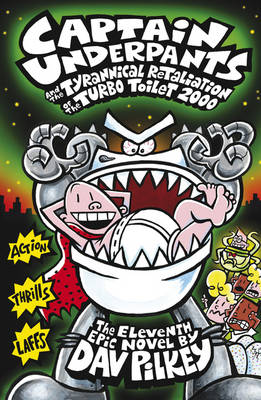 Picture of Captain Underpants and the Tyrannical Retaliation of the Turbo Toilet 2000