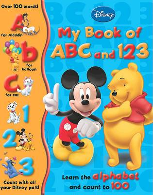 Picture of Disney My First Disney ABC 123: Classic