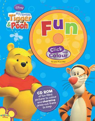 Picture of Disney CD Colouring: My Friends Tigger and Pooh