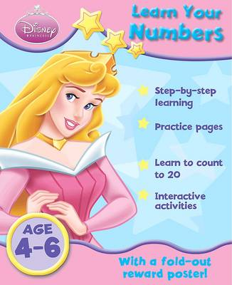 Picture of Disney Home Learning: Princess - Learn Your Numbers