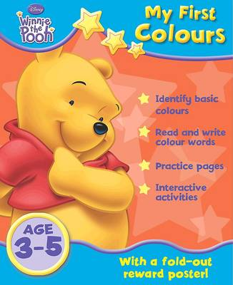 Disney Home Learning:  Winnie the Pooh  - My First Colours