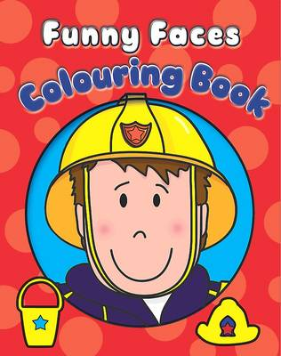 Picture of Funny Faces Colouring Book
