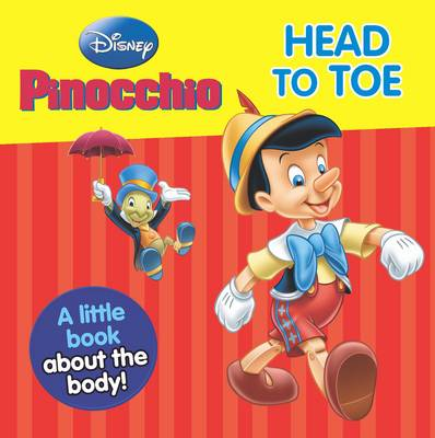 Picture of Disney Mini Board Books -  Pinocchio : From Head to Toe