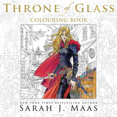 Picture of The Throne of Glass Colouring Book