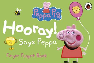 Picture of Peppa Pig: Hooray! Says Peppa Finger Puppet Book