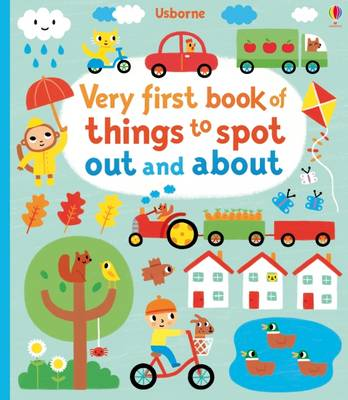 Picture of Very First Book of Things to Spot: Out and About