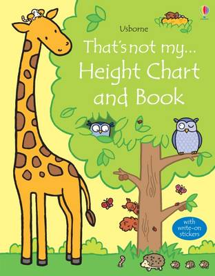 Picture of That's Not My Height Chart and Book
