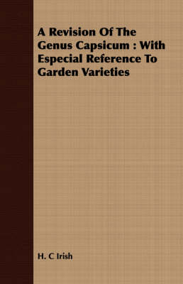 Picture of A Revision Of The Genus Capsicum: With Especial Reference To Garden Varieties
