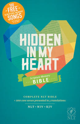 Picture of Hidden in My Heart Scripture Memory Bible NLT