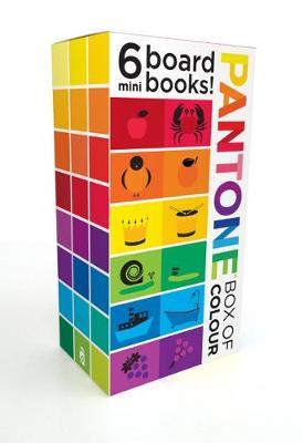 Picture of Pantone: Box of Colour: 6 Mini Board Books!