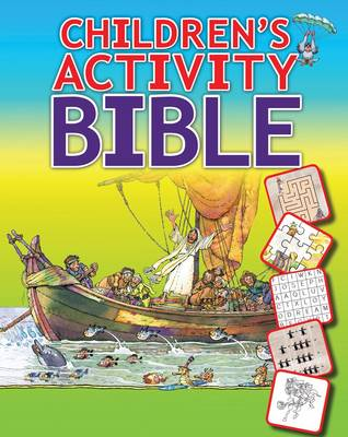 Picture of Children's activity Bible