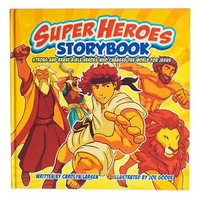 Picture of Super heroes storybook