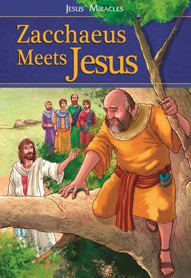 Picture of Zacchaeus meets Jesus