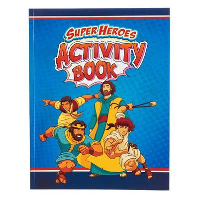 Picture of Activity Book Super Heroes