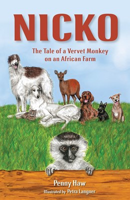 Picture of Nicko, the Tale of a Vervet Monkey on an African Farm