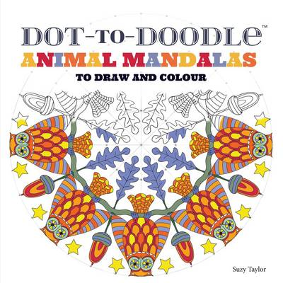 Picture of Dot-to-Doodle animal mandalas
