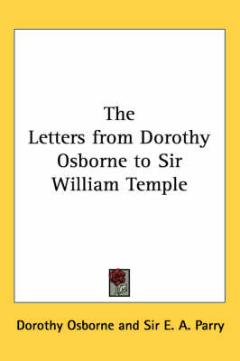 Picture of The Letters from Dorothy Osborne to Sir William Temple