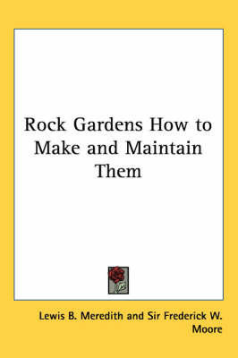 Picture of Rock Gardens How to Make and Maintain Them
