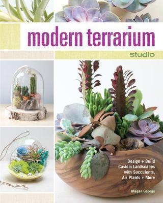 Picture of Modern Terrarium Studio: Design + Build Custom Landscapes with Succulents, Air Plants + More