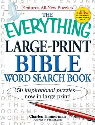 Picture of The Everything Large-Print Bible Word Search Book: 150 Inspirational Puzzles - Now in Large Print!