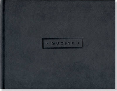 Picture of Artisan Guest Book/Classic Black