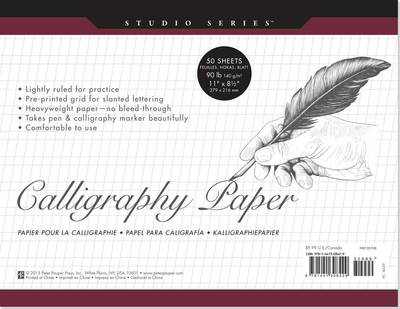Picture of Studio Series Calligraphy Paper Pad (Set of 50 Sheets)